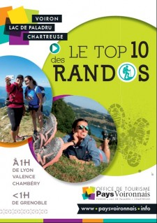 Flyer Top 10 des randos