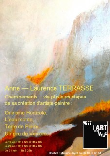 Exposition d'Anne-Laurence Terrasse