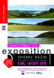 Affiche expo Thierry Bazin