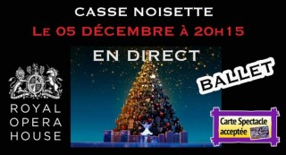 Projection Ballet Casse Noisette