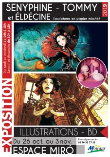 Exposition d'illustrations