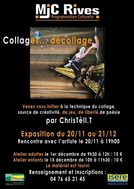 Exposition collages...décollage
